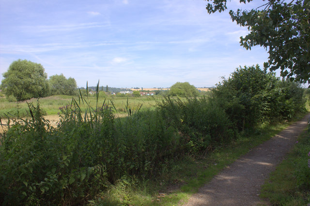 Cycle route 21, looking back towards South Merstham