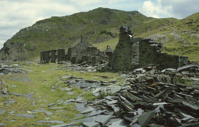 The remains of Rhosydd Quarry
