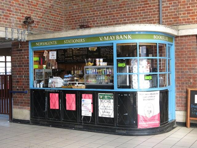Sudbury Town tube station - kiosk