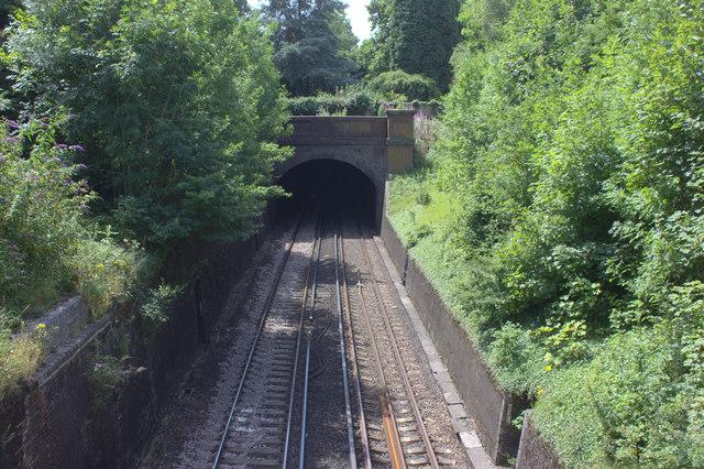 Redhill tunnel, north portal