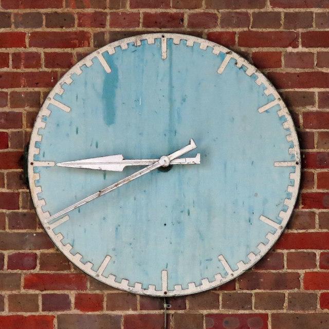 Sudbury Town tube station - clock