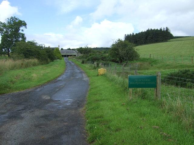 Track to Fellcleugh Farm