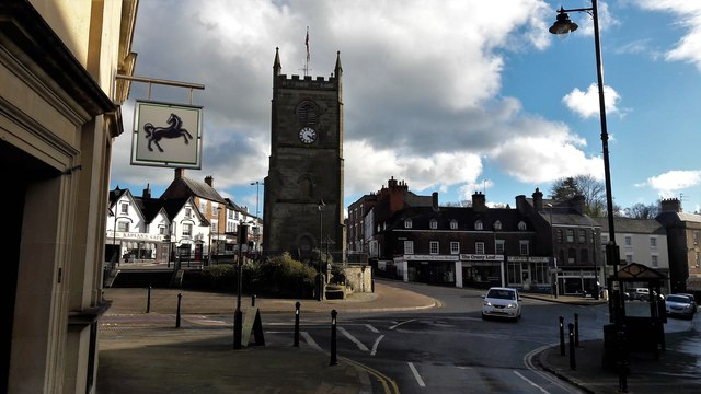 The market place at Coleford