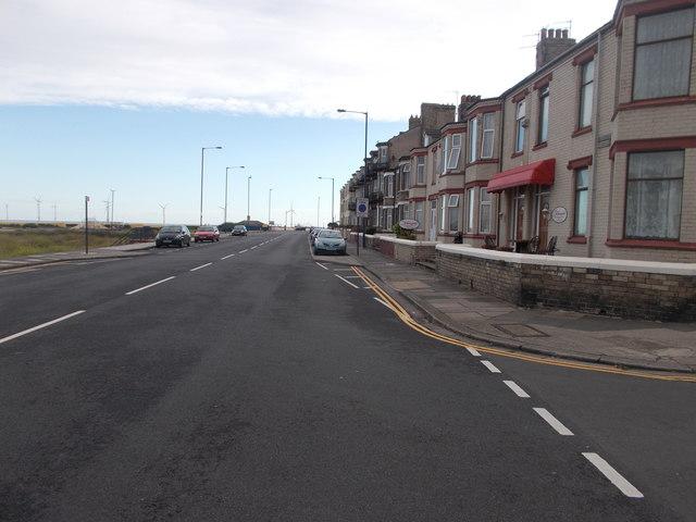 Newcomen Terrace - viewed from Queen Street