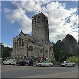 SX9193 : St David's church, Exeter by Robert Eva