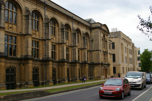 Radcliffe Science Library and Inorganic Chemistry building, South Parks Road, Oxford