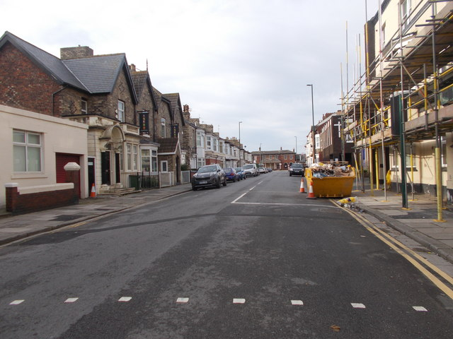 Station Road - viewed from Coatham Road