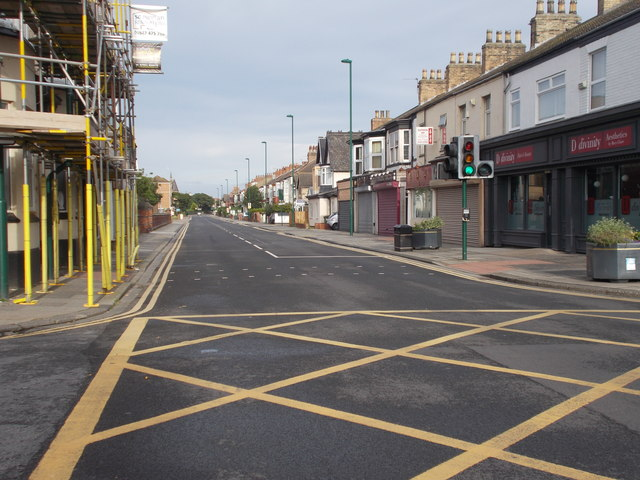 Coatham Road - viewed from Millbank Terrace