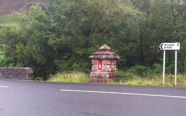 Post Box on the String Road