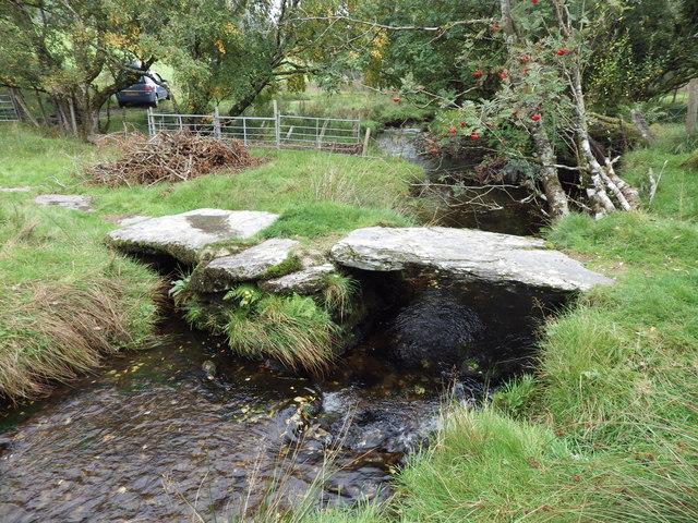 Footbridge Near Tan-y-Clogwyn