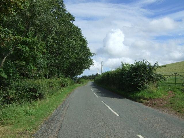B6365 towards Duns