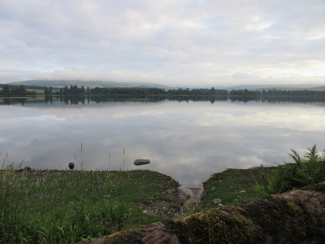 South side of the Loch of Lintrathen