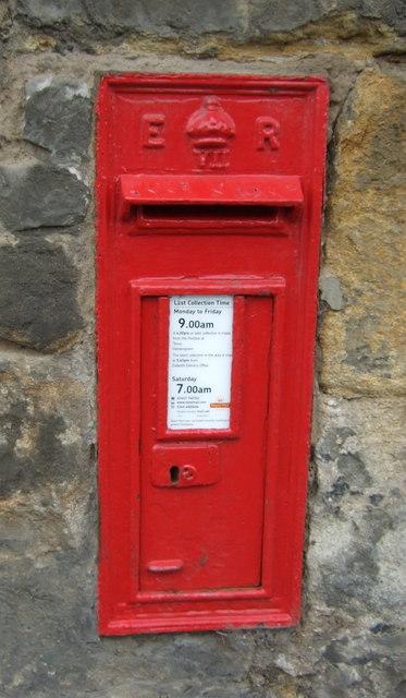 Edward VII postbox on Dalhousie Road, Eskbank