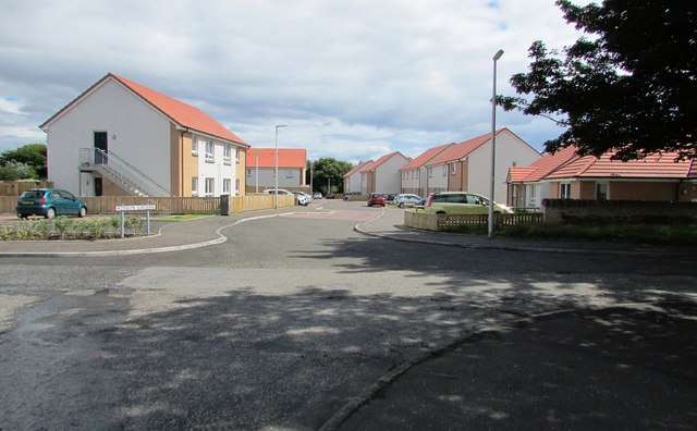 New housing development, Kirkcaldy