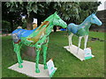 TQ5256 : Wild and Wonderful, Herd of Hospice by Oast House Archive