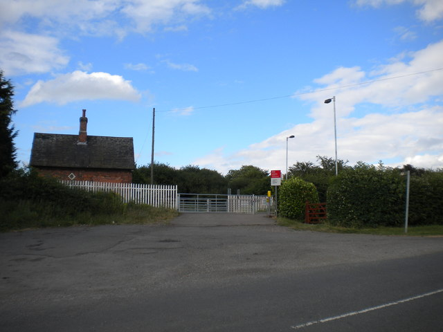 Manually operated level crossing, Bottesford