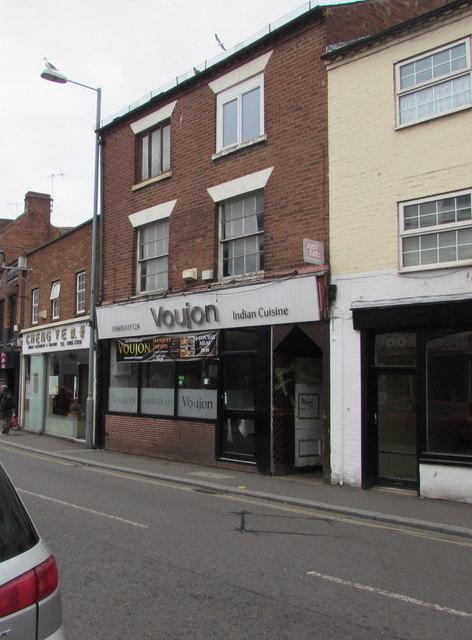 Voujon, 63 Lowesmoor, Worcester