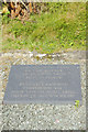 SO2568 : Commemoration plaque - Pilleth Churchyard by Stephen McKay