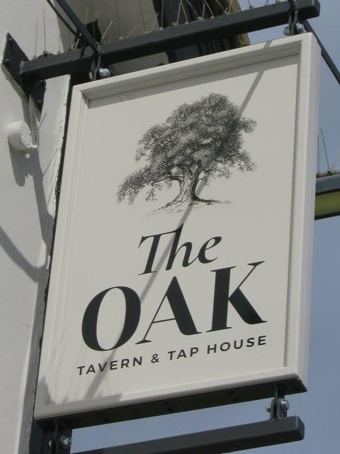 The Oak sign