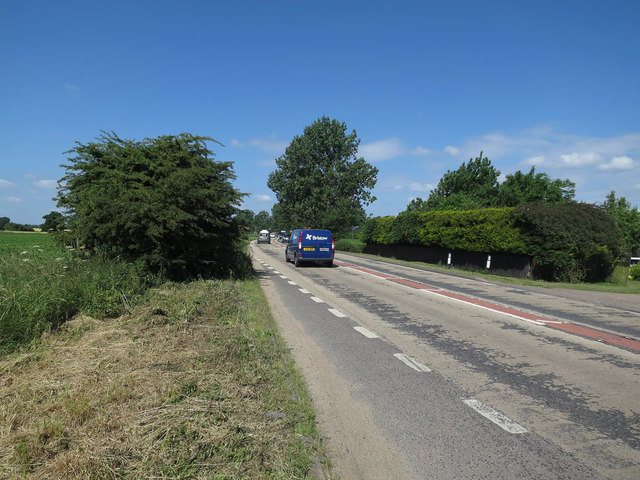 Single carriageway A47