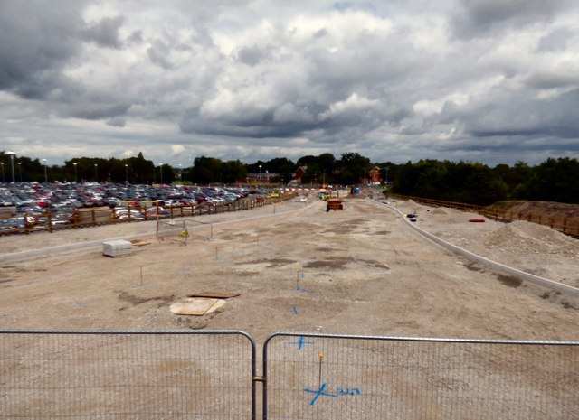New Road Construction at Manchester Airport