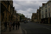 SP5106 : High Street, Oxford, on a grey evening by Christopher Hilton