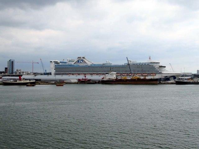 The Ocean Cruise Terminal in Southampton