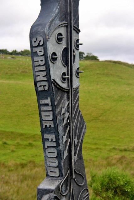 Flavour of The Spirit of Scotland sculpture