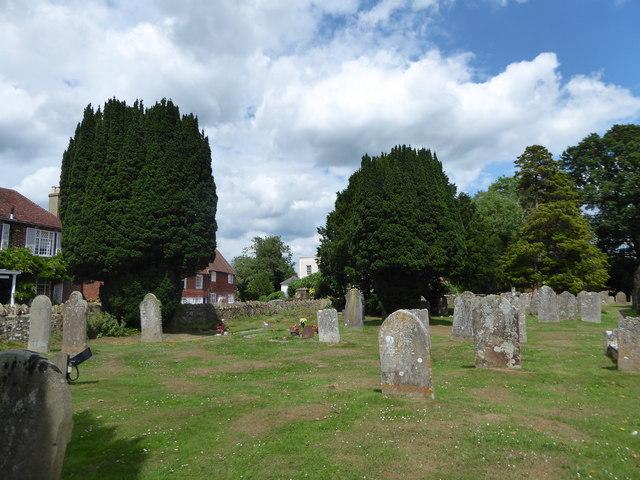 St Bartholomew, Burwash: churchyard (b)