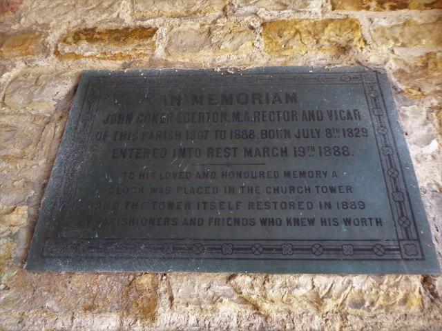 St Bartholomew, Burwash: memorial (iv)