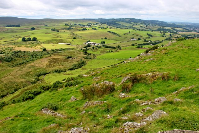 South side of Loudon Hill