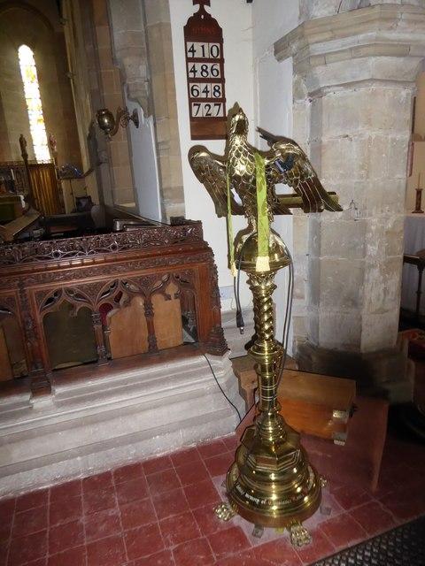 St Bartholomew, Burwash: lectern