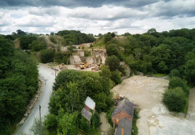 Newbridge Quarry on Sunday