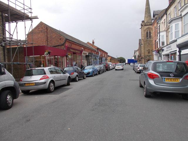 Milton Street - viewed from Pearl Street
