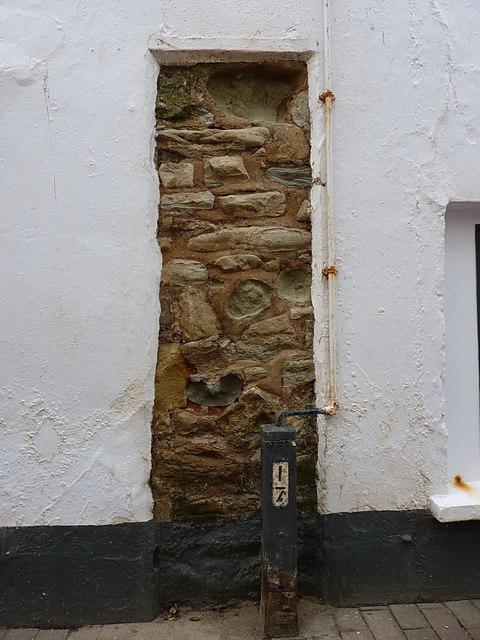 An ancient bit of wall