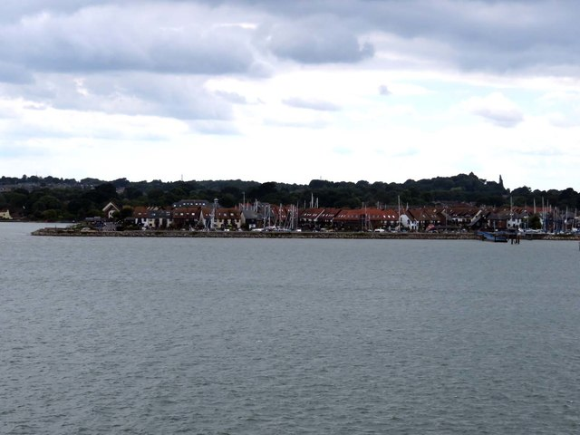 Hythe Marina and Village