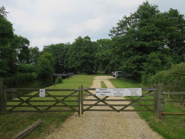 Ranworth Moorings off Farm Lane