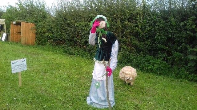 Bo-Peep at Anderby village festival