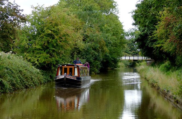 Llangollen Canal near Wrenbury Heath in Cheshire