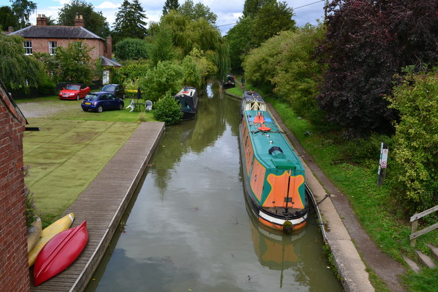 Oxford Canal from Cropredy Bridge