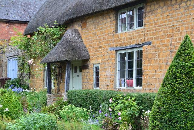 Thatched cottage detail, Cropredy