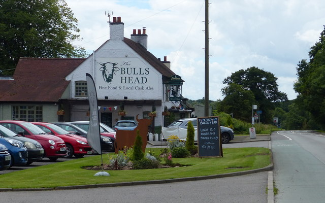 The Bulls Head at Leicester Forest West