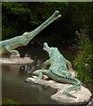 TQ3470 : SE 19 Jurassic (1): Teleosaurus by Stefan Czapski