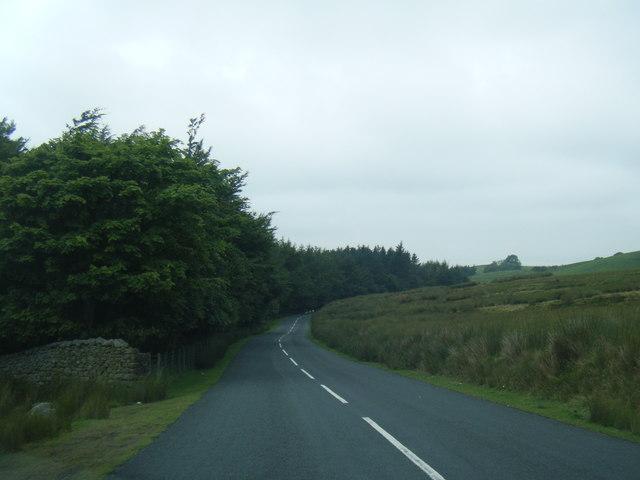 Road near Hare Appletree Farm