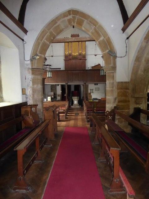 Inside St Thomas à Becket, Brightling  (viii)