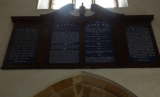 Inside St Thomas à Becket, Brightling (xi)