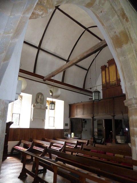 Inside St Thomas à Becket, Brightling (xiii)