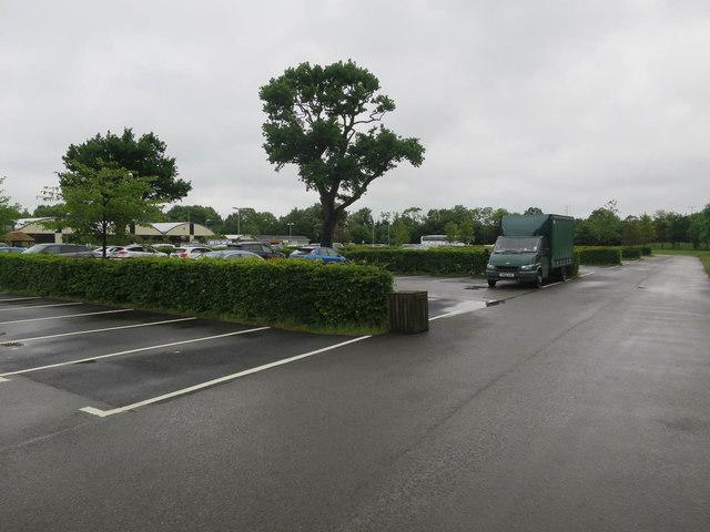 Garden centre car park