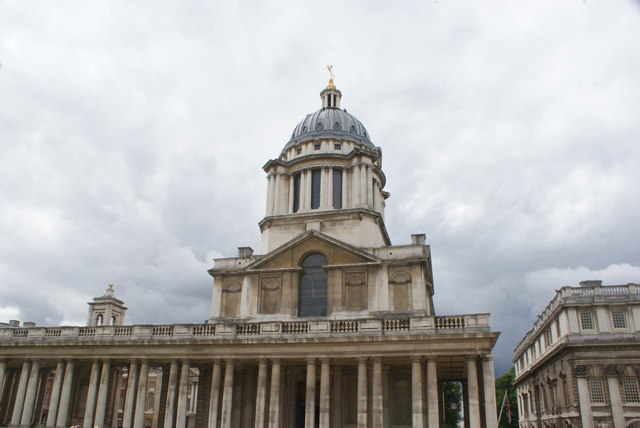View of Queen Anne Court, University of Greenwich from the university grounds #2