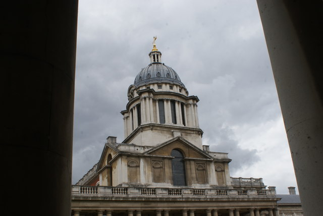 View of the Painted Hall from the grounds of the University of Greenwich #3